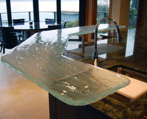 4-Layer Aisu Glass Counter Top - CT-008
