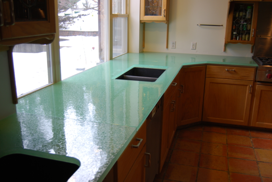 Caribbean Dense Glass Counter Tops - CT-023