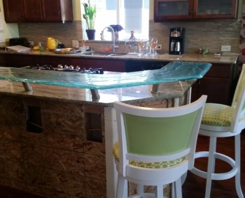4-Layer Aisu Glass Eating Counter - CT-031