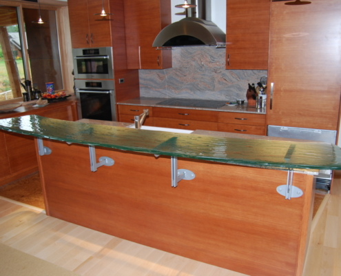 4-Layer Midori Glass Counter Top - CT-039