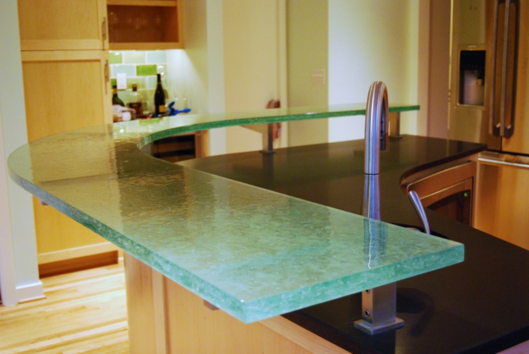 Caribbean Wisp Glass Counter - CT-046