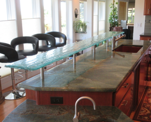 4-Layer Aisu Glass Eating Counter - CT-061