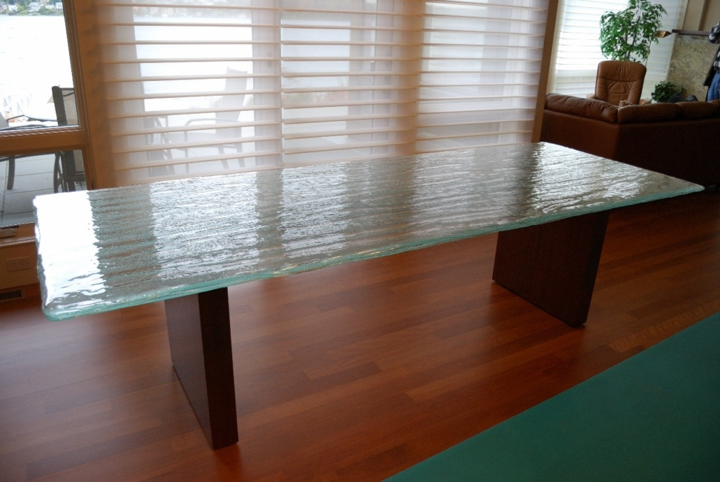 4-Layer Aisu Glass Dining Table - DT-014