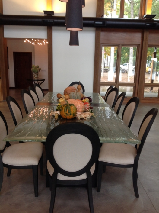 4-Layer Aisu Glass Dining Table - DT-020