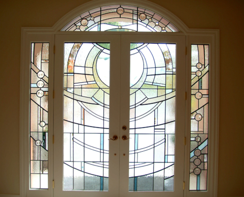 Stained Glass Doorlites - DW-018