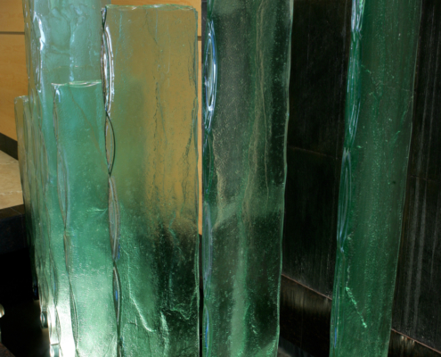4-Layer Midori Glass Water Feature - SP-001