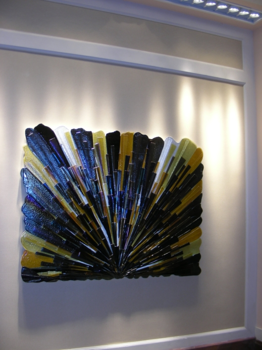 Multi-piece Fused Glass Wall Art - SP-013