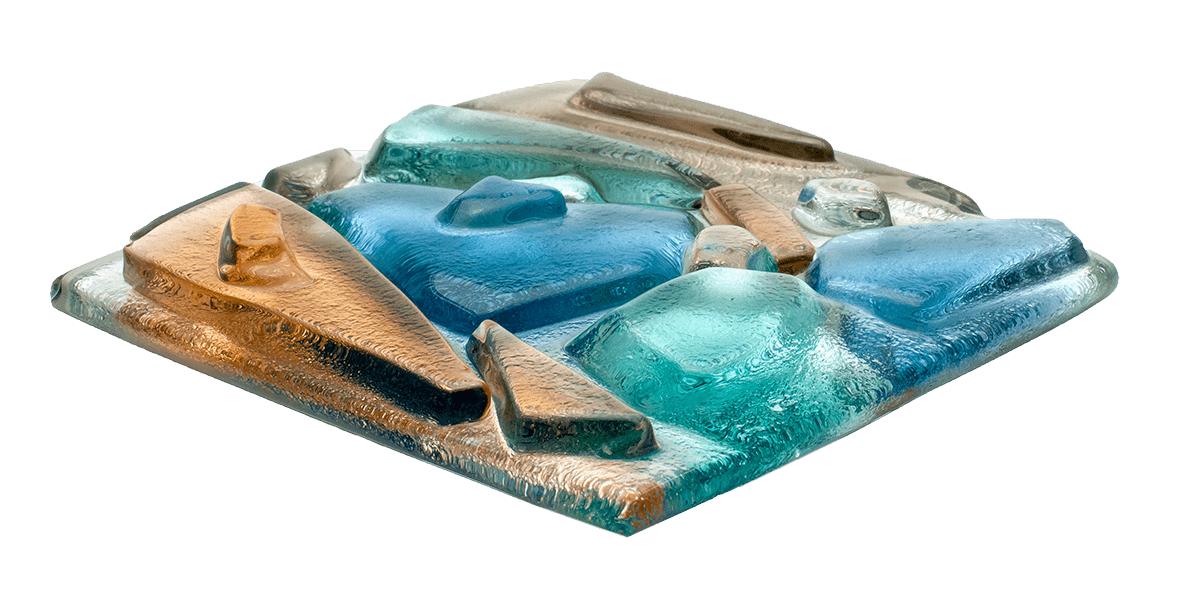 Art Glass Samples - Sea Glass