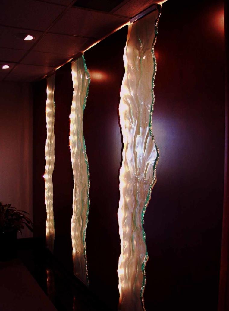 Custom Texture Glass Wall Light - WP-005