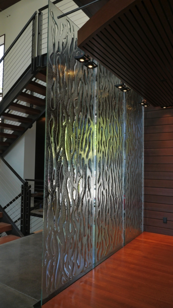 Optic Flow Safety Glass Privacy Wall - WP-022