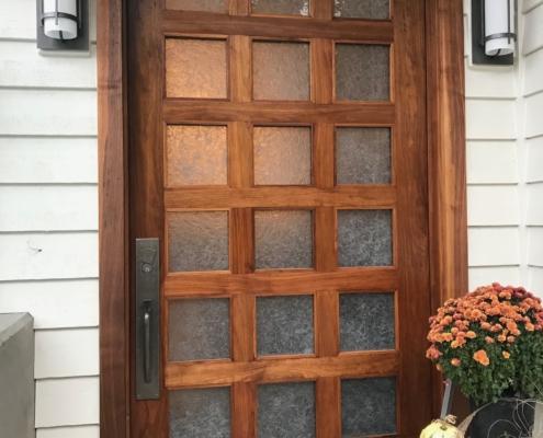 Arctic Wisp Glass Door Inserts - DW-022