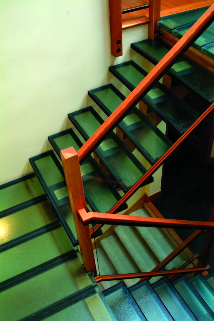 Legacy Green Stair Steps