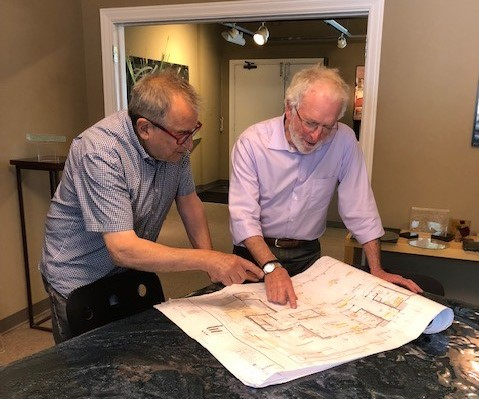 Steve Designing with Sandler Architects